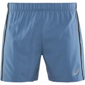 """asics 5"""" Shorts Miehet Juoksushortsit , sininen"""